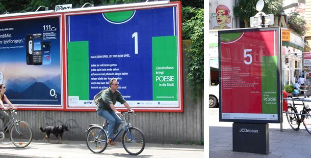 311-Kunst oder Reklame  Literaturhäuser Poesie in die Stadt Fußball_Seite_1_Bild_0001