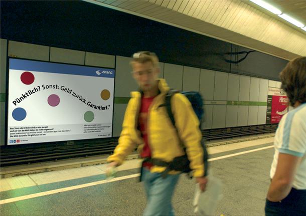 7-Kunst oder Reklame | MVG Imagekampagne Pünktlichkeit_Seite_1_Bild_0001