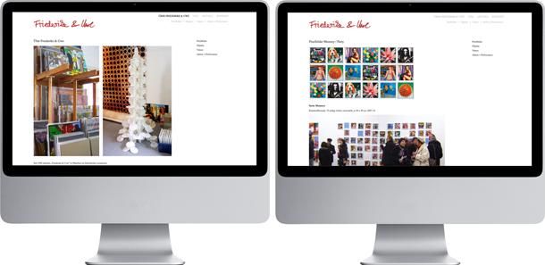 Kunst oder Reklame webdesign